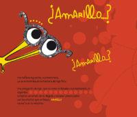 Detalle de una página interior de Júmbol, el limaco amarillo