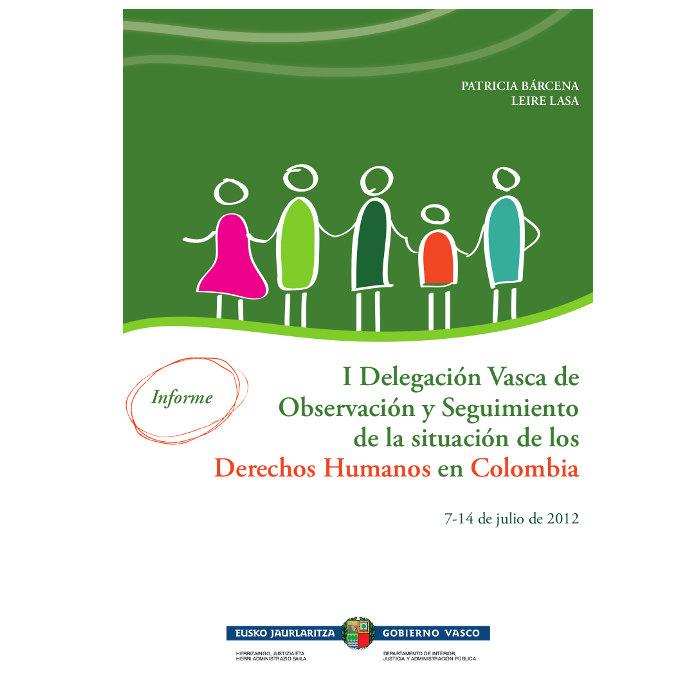 Informe Seguimiento situación Derechos Humanos en Colombia 2012