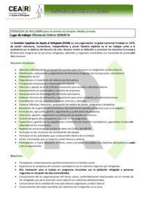 Tecnico A De Inclusion Empleo Donostia Media Jornada Cear Euskadi